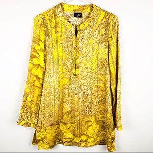 Just Cavalli Silk tunic